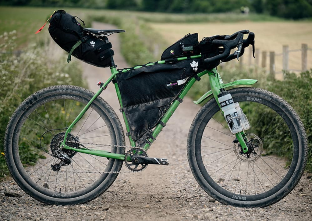 Josh Ibbet bikepacking rig for Tour Divide, komoot
